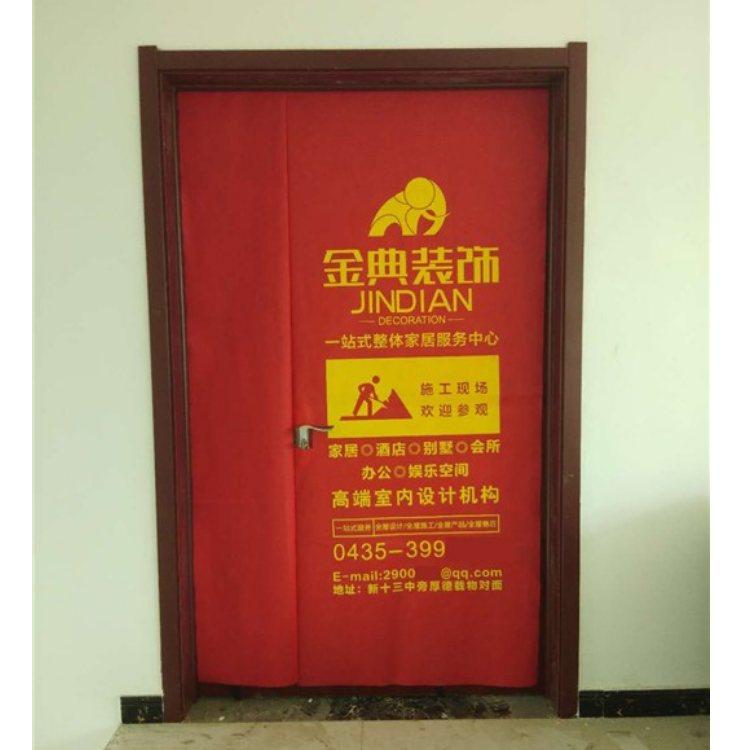 兴顺 电梯门罩定制 木门门罩定制 装修用门罩定做