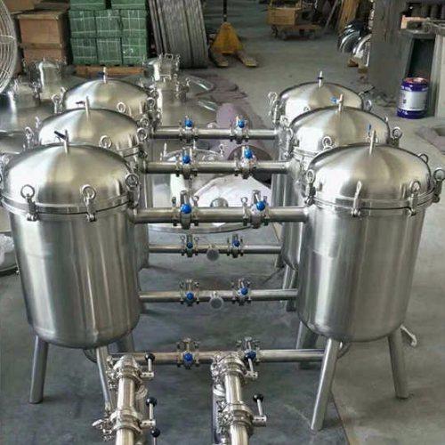 河北多袋式过滤器 河北多袋式过滤器生产 远安流体