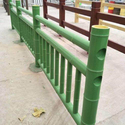 河道水泥仿竹栏杆哪家好 新农村建设水泥仿竹栏杆订做 丽景建材