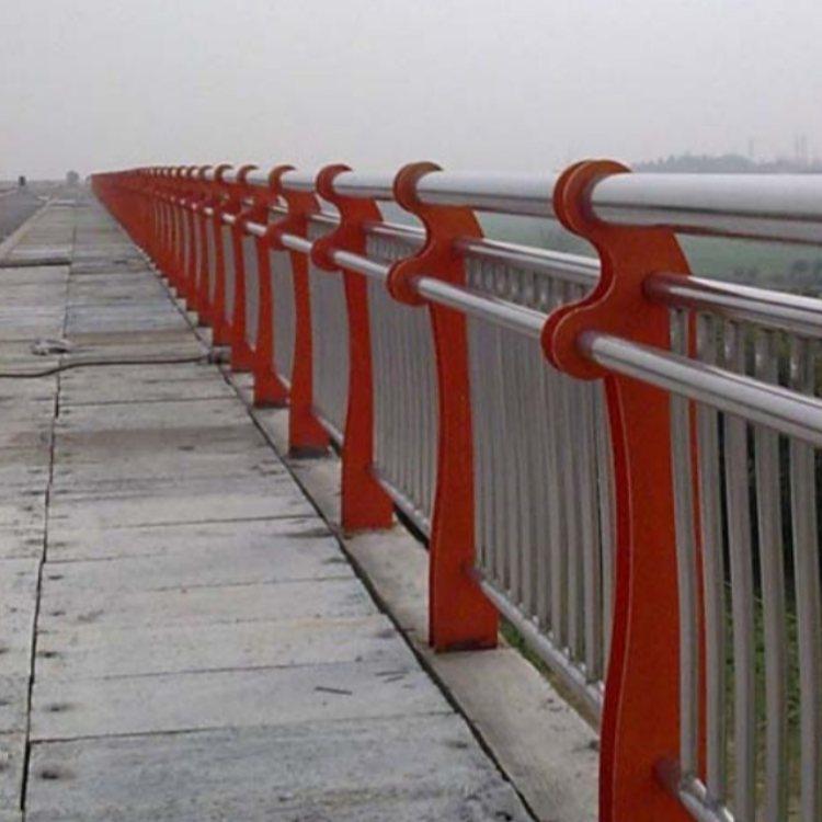 镀锌管桥梁栏杆批发 神龙 不锈钢复合管桥梁栏杆批发