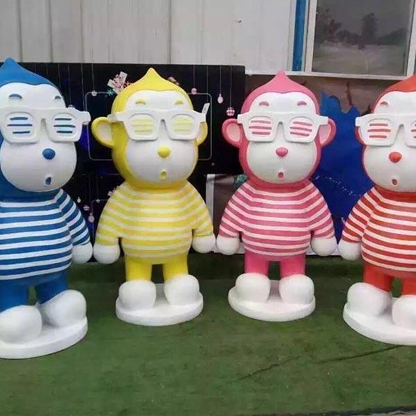 陕西玻璃钢雕塑 潍坊玻璃钢雕塑 动漫玻璃钢雕塑制作 增艺雕塑