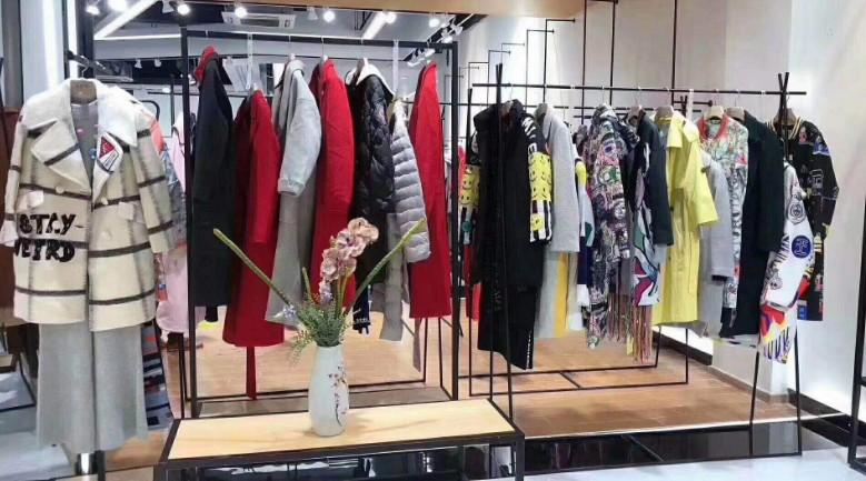 马克华菲 冬季新款品牌系列折扣女装 尾货女装 品牌折扣 批发