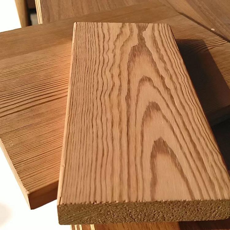 室内碳化木生产商 室内碳化木推荐 碳化木定制 红企木业
