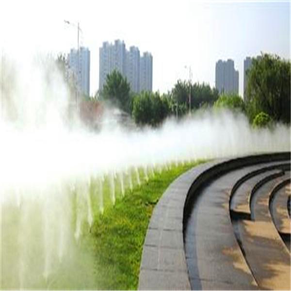 智能雾森系统厂家公交车站人工造雾
