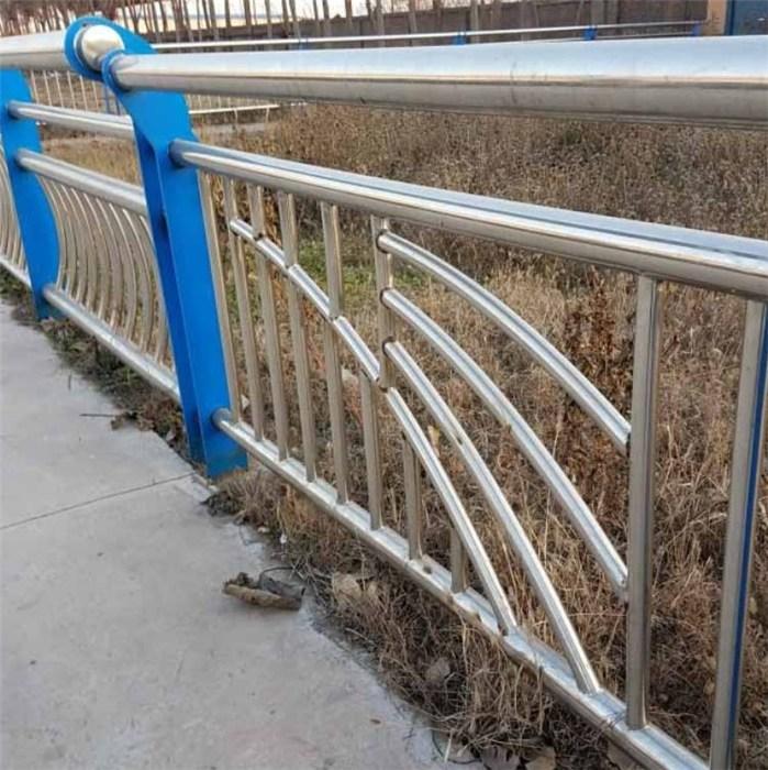 灯光不锈钢复合管护栏批发 景区不锈钢复合管护栏现货 久信