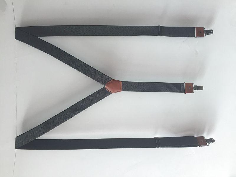 专业定制女士背带 高档西裤三夹背带