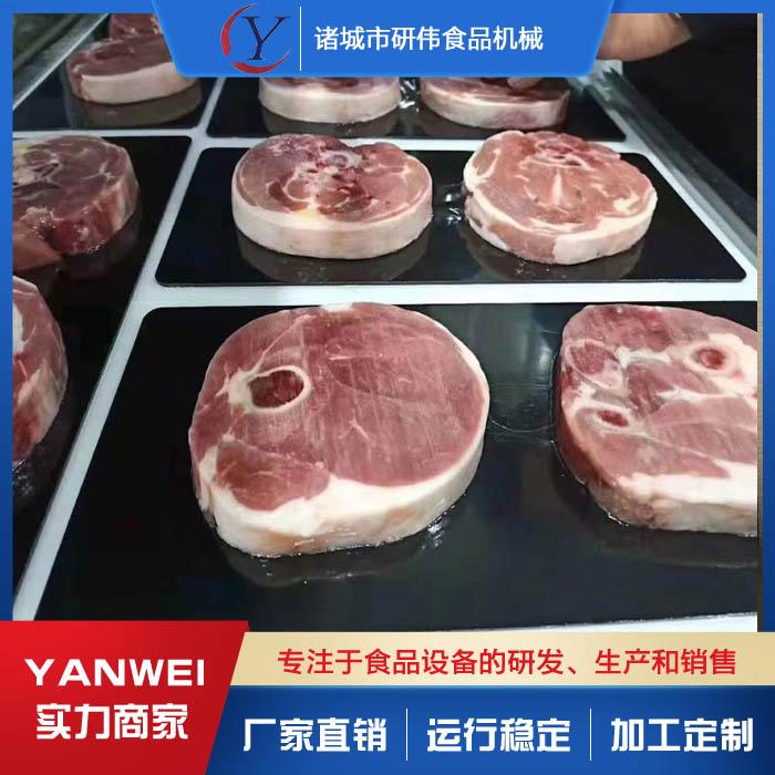 鸡柳贴体包装机设备 蔬菜贴体包装机生产厂家 研伟机械