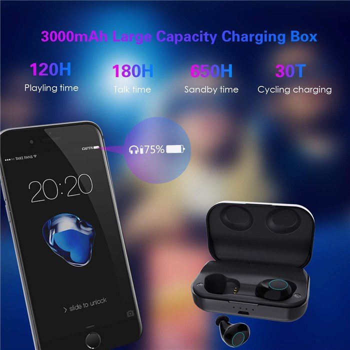 功夫龙 海韵蓝牙耳机无线蓝牙耳机5.0蓝牙5.0无线耳机性价比