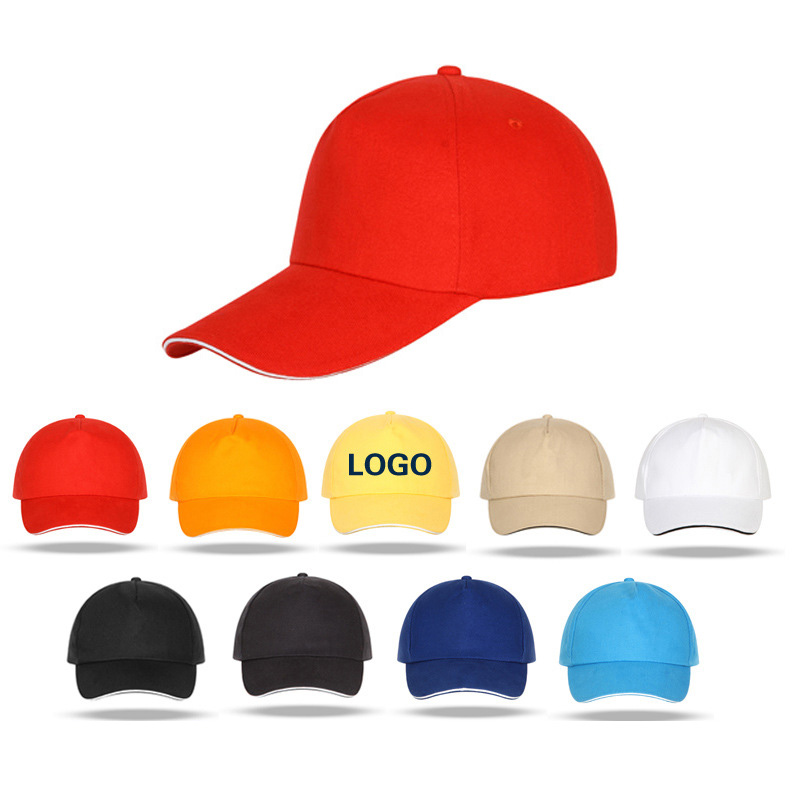 定做纯棉遮阳帽 男新款男帽女帽运动帽太阳帽户外棒球帽鸭舌帽