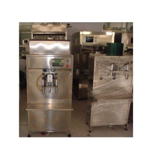 半自动84消毒液灌装机 恒鲁机械 专业生产84消毒液