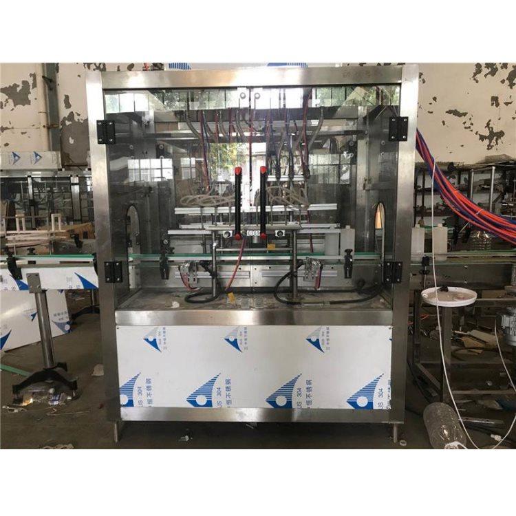 润滑油灌装机械厂 半自动润滑油灌装机械生产 雷田