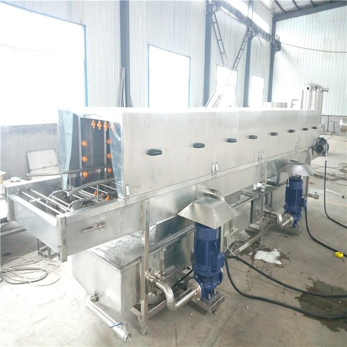 果蔬周转筐洗筐机制造商 国邦机械 托盘洗筐机供应商