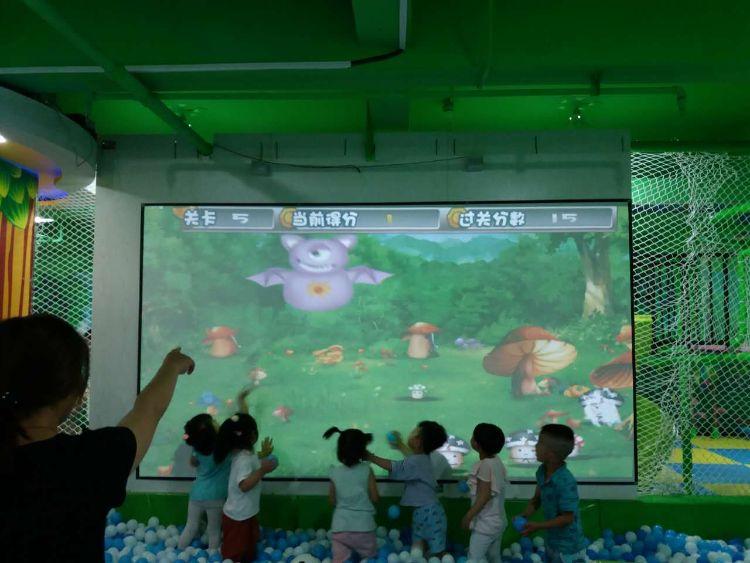 pokiddo口袋屋儿童投影互动-幻境沙海 专业互动投影游戏