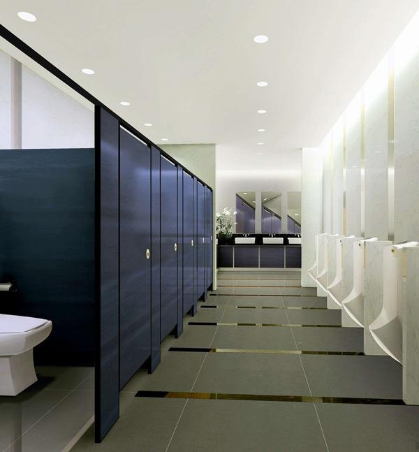 黄冈写字楼卫生间隔断批发 耐撞击 耐潮湿的新型材料 运融新材料