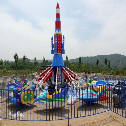 大型旋转升降飞机 广场旋转升降飞机 儿童旋转升降飞机定做 嘉园