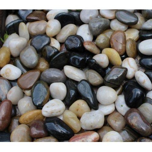 山东鹅卵石图片 山东鹅卵石 山木景观 临朐鹅卵石公司