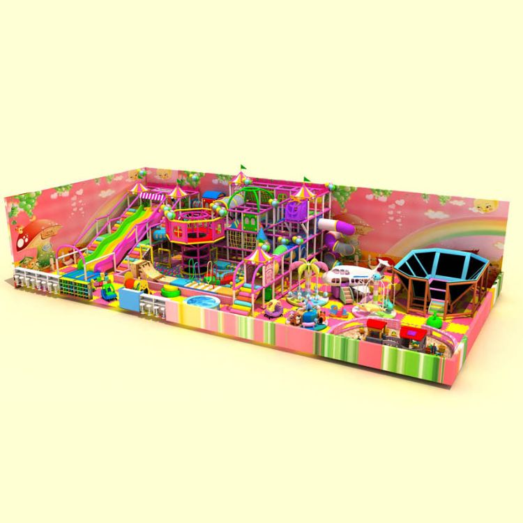 淘气堡室内儿童乐园