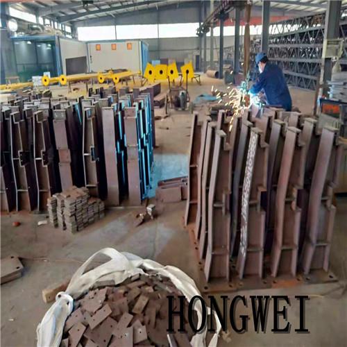 山东鸿威 结构件焊接钢结构生产加工 工字钢钢结构工程