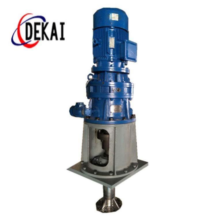 反應攪拌器作用 化工攪拌器圖片 德凱 側入式攪拌器加工定制