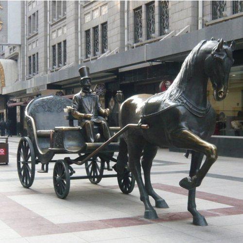 丰铸雕塑 大型骑马武士雕塑定做 大型骑马武士雕塑