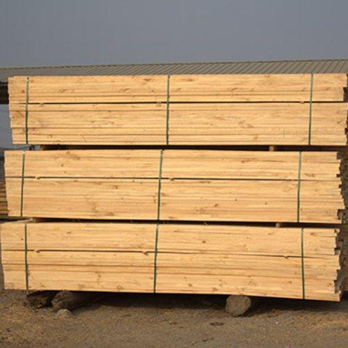 5*7木方 4米木方 松木木方加工厂 旺源木业
