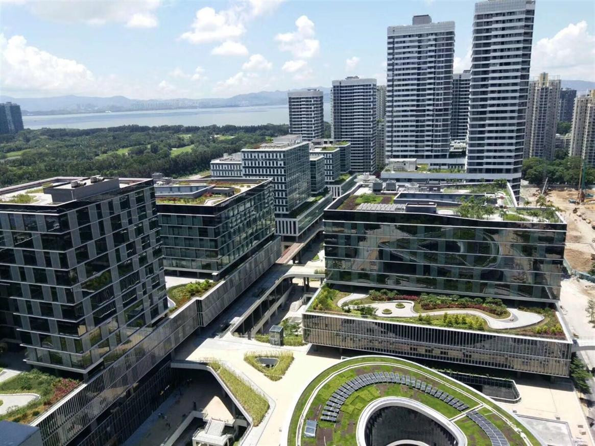 深圳湾科技生态园写字楼出租 面积大小都有