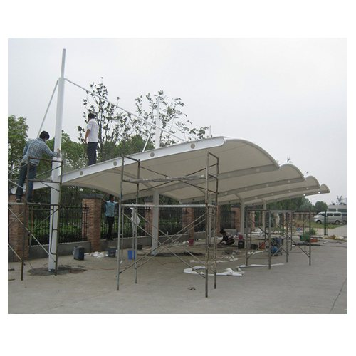 膜结构汽车棚施工 金梁 专业膜结构汽车棚订做