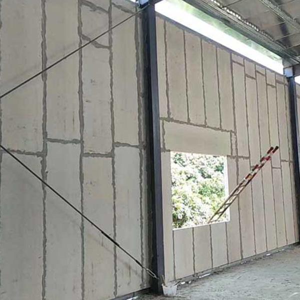 华跃建材 泡沫夹心硅酸钙板聚苯颗粒复合夹芯墙板定制