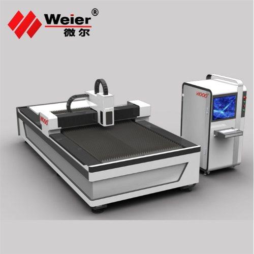 钣金件光纤激光切割机哪家好 微尔 金属光纤激光切割机