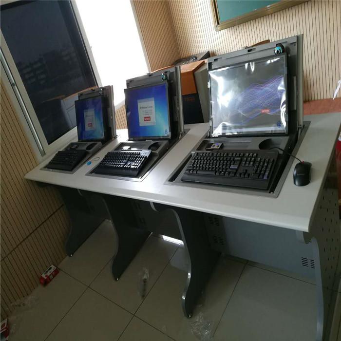 双人翻转电脑桌尺寸 直销双人翻转电脑桌批发 志欧