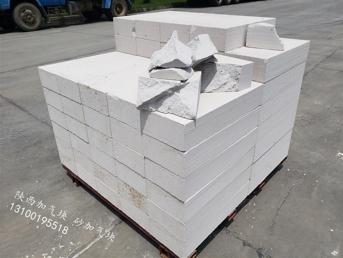 凤县砂加气块 新型建材  质优价廉