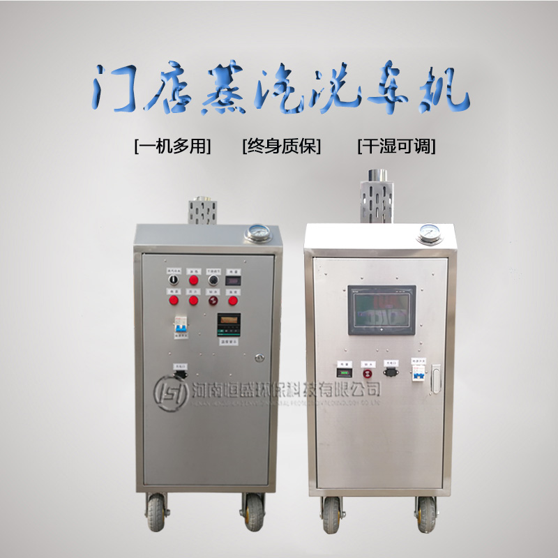 蒸汽洗车机的性价比 恒盛 蒸汽洗车机高效更环保