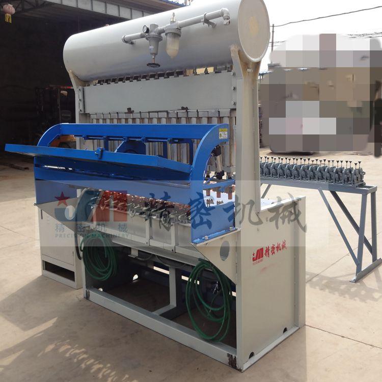 半自动钢筋焊网机使用方法 建筑建材钢筋焊网机全套设备 精密机械