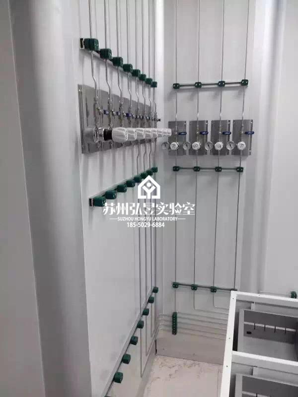 重庆不锈钢气体管道实验室集中供气系统 实验室气体管路 尺寸精准