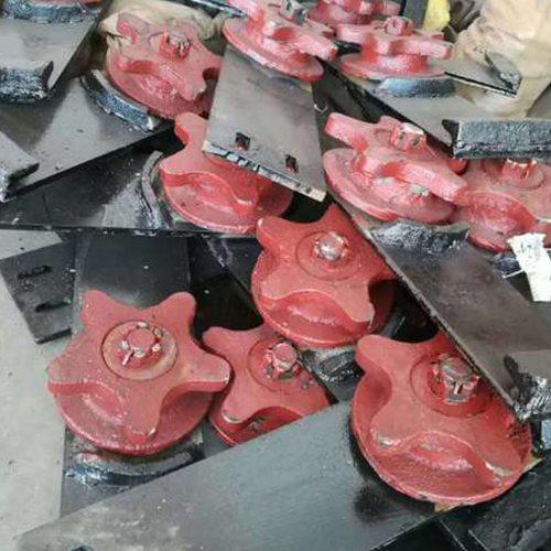 铸钢五星轮批发商 正丰铁路器材 铸钢五星轮供应商