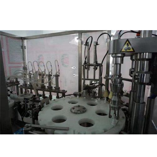 小型自动洗手液灌装机流水线 洗手液灌装机流水线 山东赛特智能