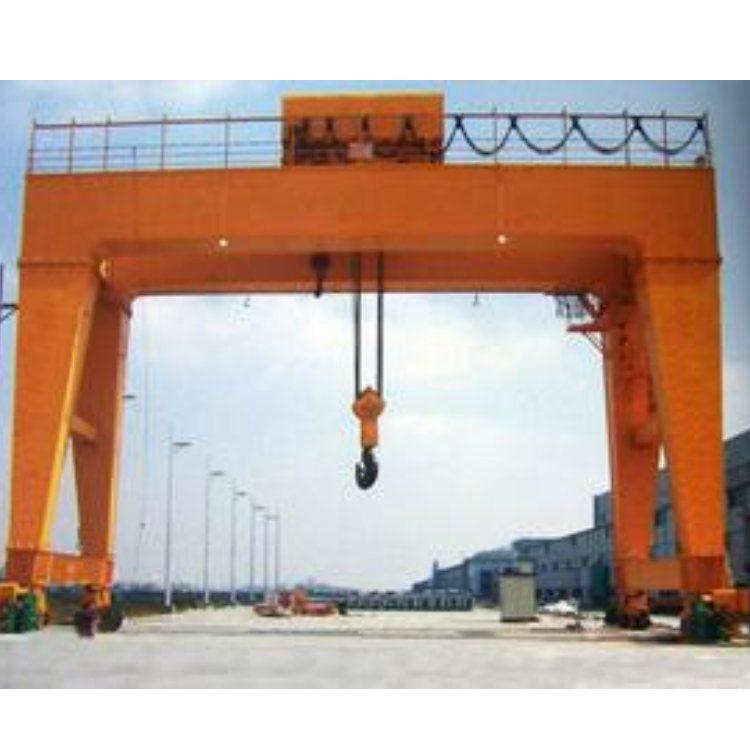 MHE双葫芦门式起重机设计 BMH2-20吨门式起重机性能 鲁新