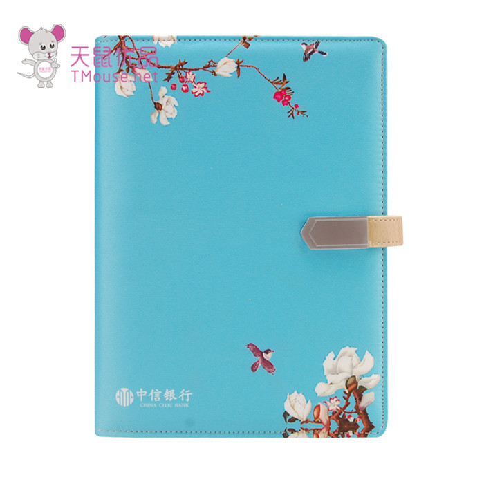 精美U盘笔记本印刷定制 天鼠优品 精美U盘笔记本LOGO可定制