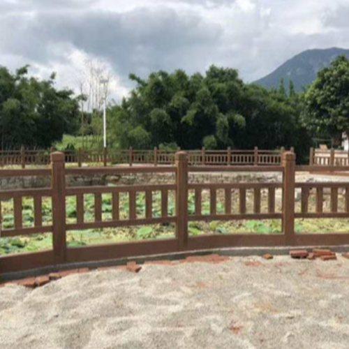 恒屹建材 茂名仿木栏杆定制 广州仿木栏杆生产