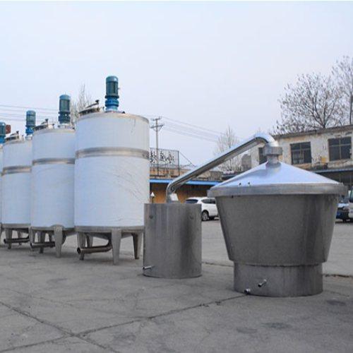 酿酒设备定制 久鼎 2000斤酿酒设备 大型酿酒设备报价