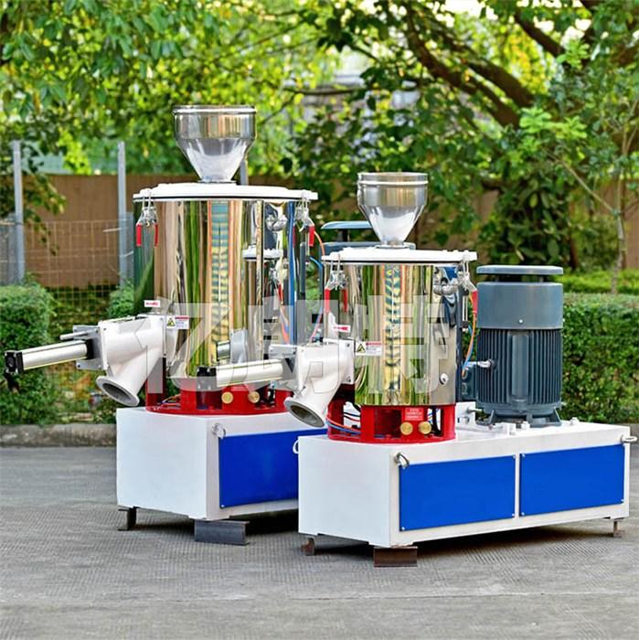 直销粉体改性高效立式高速混合机 塑料pvc单机搅拌高速混合机