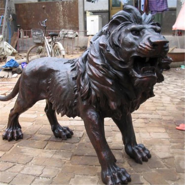 铜爬狮订做 大型铜爬狮订做 大型铜爬狮定做 妙缘雕塑