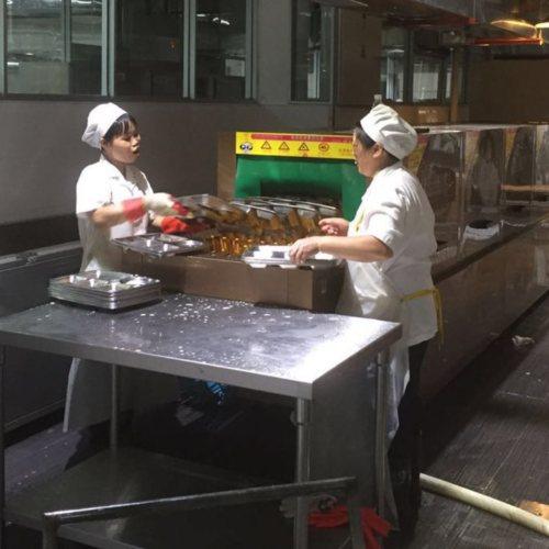 华璟 企业员工饭堂洗碗机哪家好 员工饭堂洗碗机全自动