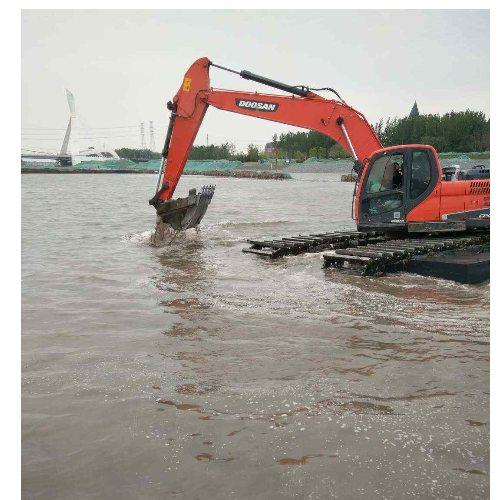 庆阳市水陆挖机出租 天水市水陆挖机租赁 湿地挖掘机出租