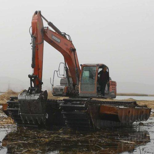 合作市专业河道清淤 水库 鱼塘清淤和水域治理