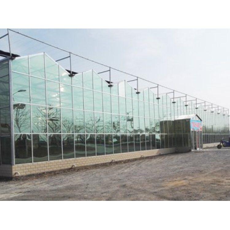 PC板智能玻璃大棚品牌 PC板智能玻璃大棚建设 华亮温室