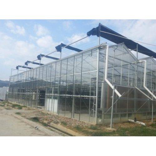 新型智能温室多少钱 华亮 阳光板智能温室建设