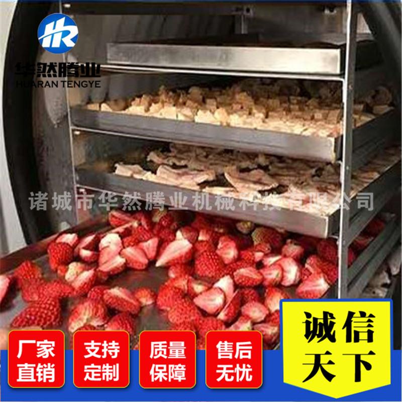南极虾真空冻干机 鳕鱼丁真空冷冻干燥设备 鸡肉低温冻干机器定制