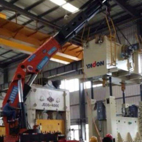 大型随车吊出租公司 安特起重吊装 剪板机随车吊出租