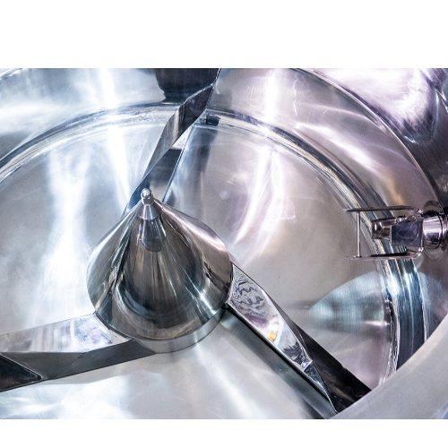 酶制剂双锥混合机流程图 江苏博鸿 石油助剂双锥混合机流程图